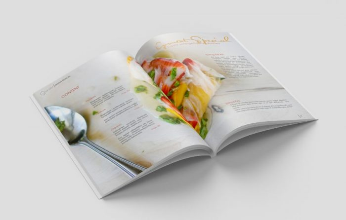 Magazine - Cuisinier, layout, food, publishing